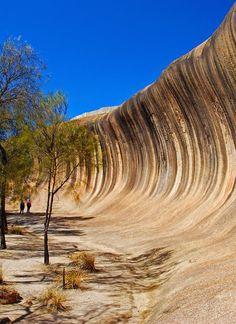 100 Million Years Old Wave Rock, Hyden Australia
