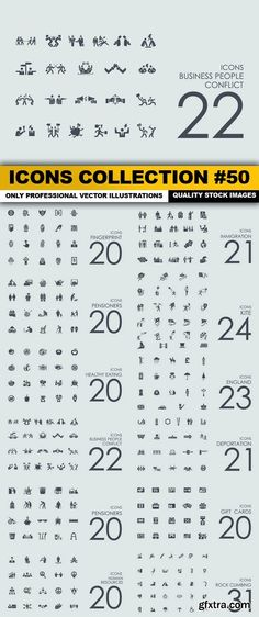 Icons Collection #50 - 12 Vector