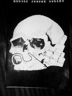 Skull granat