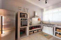 Cozinha assinada por Matteo Gavazzi.