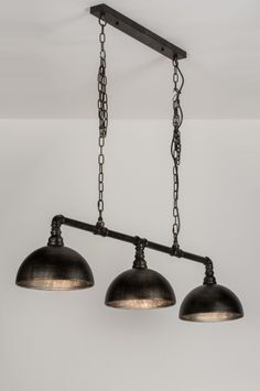 Hanglamp 10363: Klassiek, Industrie, Look, Roest
