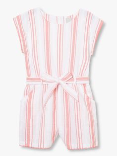Buy John Lewis & Partners Girls' Stripe Playsuit, Coral from our Girls' Dresses range at John Lewis & Partners. Free Delivery on orders over Renaissance Clothing, Steampunk Clothing, Steampunk Fashion, Gothic Fashion, Gothic Steampunk, Victorian Gothic, Emo Fashion, Jumpsuits For Girls, Girls Rompers