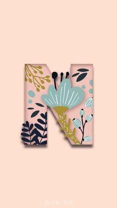 Monogram Wallpaper, Cute Emoji Wallpaper, Alphabet Wallpaper, Disney Phone Wallpaper, Graphic Wallpaper, Pink Wallpaper Iphone, Pastel Wallpaper, Tumblr Wallpaper, Wallpaper Backgrounds