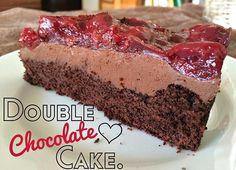 Eat Care Live - Vegane Rezepte & Blog | Lythebeee | Double Chocolate Cake Torte - Die beste vegane Torte der Welt!