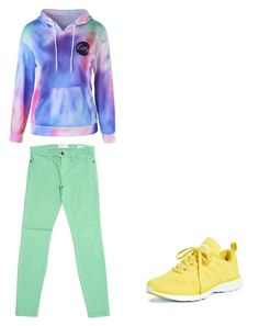 Квадрат by explorer-15078140399 on Polyvore featuring мода, Current/Elliott and Athletic Propulsion Labs