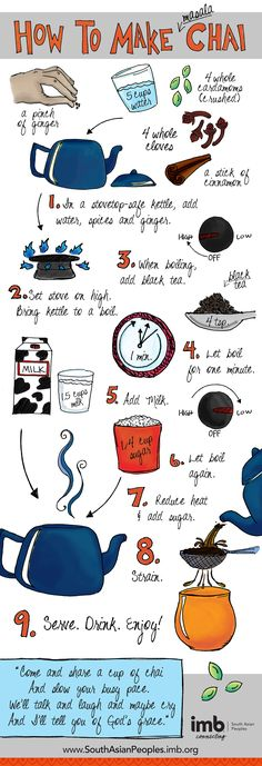 ... chai tea more authentic chai tea tea infographic how to make chai