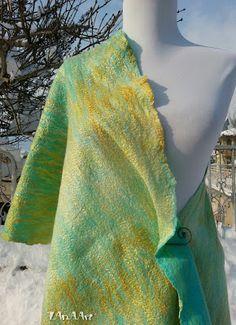 LAnAArt: Spring Mystery in gold and blue ♥ Пролетно тайнство в синьо и златно