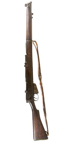 Lot 441: British Enfield No.1 SMLE Mark 3 .303 Cal. Rifle (Serial #61656); WWI or WWII era bolt-action magazine fed rifle with replacement sling