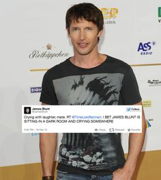 17 Reasons You Should Be Following James Blunt On Twitter