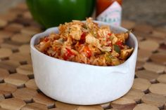 This Creole jambalaya recipe makes a fast and easy meal for a family or for guests. It's made with chicken or ham, or use a combination. Serve with a tossed green salad and crusty French bread or cornbread.