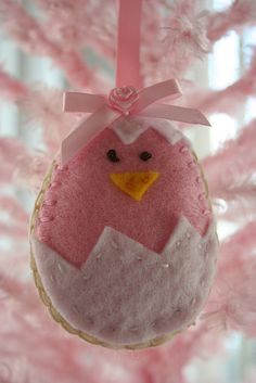 """easter ornament felt DIY"" #easter"