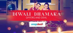 Snapdeal Diwali Dhamaka Offers and Deals
