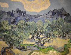 Vincent van Gogh - The Olive Trees (Saint Remy, 1889)