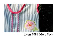"VERY SHANNON: Dress Shirt Sleep Sack Tutorial with Guest - Lindsay from ""The Cottage Home"""