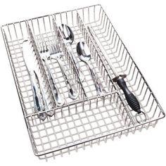 Chrome Cutlery Tray - Walmart.com