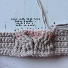 Free Crochet Pattern for the Matilda Tote - Crochet Cables Bag — Megmade with Love Crochet Cable, Free Crochet, Crochet Hats, Knitting Stitches, Matilda, Crochet Patterns, Blog, Crochet Clutch Bags, Tricot