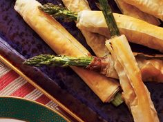 Phyllo-Wrapped Asparagus with Prosciutto is an appetizer worthy of a special occasion. Simply roll up prosciutto and asparagus in phyllo...