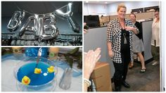 """Congratulations to our Design Manger, Kristine and her baby boy! What a wonderful surprise baby shower put on by our awesome design team. In the words of our Design Support team member Nancy, """"Kristine deserves the world - she is the best design manager!""""  #cousindiy #cousincorp #itsaboy #babyshower #companyculture #laurajanelle #primabead"""