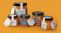 Liquidlizard Portfolio of Dave Ashby - Honey Label Designs and Render Cake Boxes Packaging, Honey Packaging, Yogurt Packaging, Bakery Packaging, Food Packaging Design, Bottle Packaging, Cookie Packaging, Honey Jar Labels, Honey Label