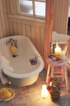 Miniature Bathroom Retreat ~ 1/12 scales