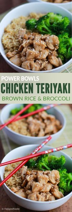 Hope you try this recipe for Chicken Teriyaki Brown Rice and Broccoli. This version of the Chicken Teriyaki Brown Rice and Broccoli was exotic for them, but they gobbled up their plate felt in minutes and felt cultured eating Asian food at home. I think it's the honey in the sauce that makes it so sweet and tasty for the kiddos (and for us too, who are we kidding?!)