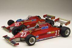 Ferrari 126CK NO.27 Gilles Villeneuve Tameo Kits TMK 391 : 1/43 wave : 1/43
