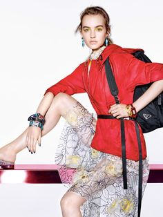 Maartje Verhoef by Richard Burbridge for Vogue China January 2017