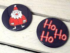 Magnet SET Ho Ho Ho Kleine Weihnachtsdeko TO GO