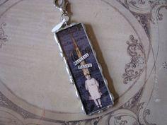Martini Fairy Soldered Pendant by monamiejewelry on Etsy, $18.00