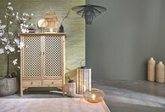 Beige and Black Woven Rattan and Bamboo Baskets on Maisons du Monde. Take your pick from our furniture and accessories and be inspired! 3 Drawer Storage, Tall Cabinet Storage, Modern Decor, Modern Design, Recycling, Parasols, Wood Source, Kiefer, Recycled Wood