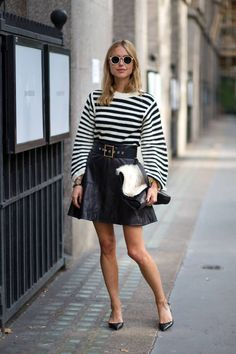 Pernille Teisbaek proves her street style to be flawless, among others seen here: