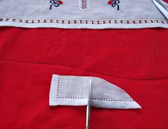 handmadeina: Imi cos singura o ie- Tutorial, pregatirea manecilor pentru incheiat Folk Fashion, Projects To Try, Costumes, Popular, Blouses, Embroidery, Dress Up Clothes, Fancy Dress, Blouse