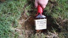 Bury the bourbon, southern wedding tradition to prevent rain