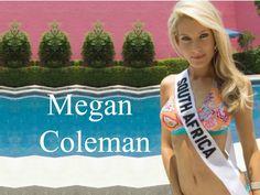 Megan Coleman Miss South Africa wallpaper