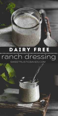 Easy homemade vegan ranch dressing. All you need to do is dump and blend! Gluten free ranch and tastes just like the real deal. Thick, creamy and all the best ranch dressing herbs. #ranchdressing #veganranchdressing #ranch #homemaderanchdressing #glutenfreeranchdressing Best Ranch Dressing, Homemade Ranch Dressing, Jam Recipes, Veggie Recipes, Vegetarian Recipes, Keto Sauces, Healthy Sauces, Dairy Free Keto Recipes, Ketogenic Recipes