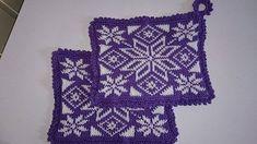 Ravelry: Stellarum grytekluter pattern by Sissel Kjelbotn Crochet Potholders, Knit Dishcloth, Spa Items, Crochet Kitchen, Double Knitting, Washing Clothes, Textured Background, Pot Holders, Free Pattern