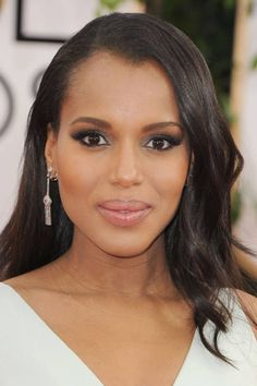 Best Accessories from the 2014 Golden Globes: Kerry Washington's Fred Leighton earrings