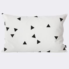 Ferm Living Mini Triangle Cotton Lumbar Pillow