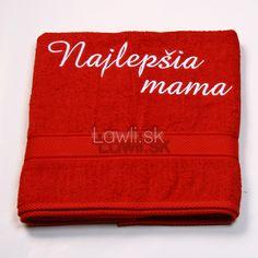 Osušky s nápismi : Najlepšia mama http://www.lawli.sk/darcek/eshop/29-1-Vysivane-osusky/8-2-Vysivane-osusky-s-napismi
