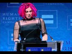 Lana Wachowski speech HRC Visibility Award (discurso subs español spanish)