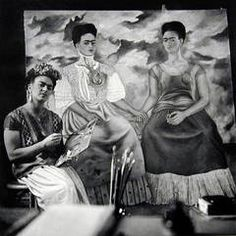 """Frida Painting """"The Two Fridas"""""""