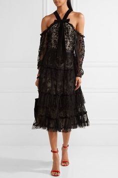 Black tulle Concealed zip fastening along back 100% nylon; trim: 100% polyester Dry clean Imported