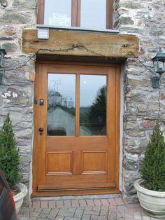 Hardwood door and frame Georgian Doors, Timber Door, Hardwood, Frames, Windows, Furniture, Home Decor, Natural Wood, Decoration Home