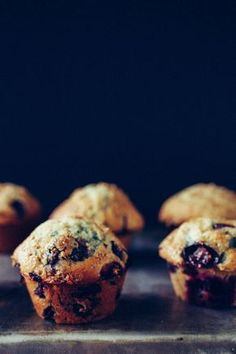 Perfectly Jumbo Concord Grape Muffins with Crunchy Tops and Lots of Fruit!
