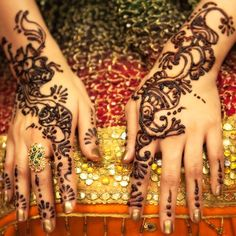 gotta get out my henna.