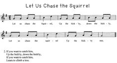 Mrs. V's Crazy Music Classroom: Let us Chase the Squirrel