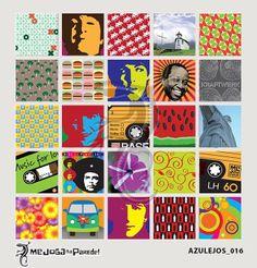 Azulejos Adesivos Decora nº 016 www.mejoganaparede.com.br