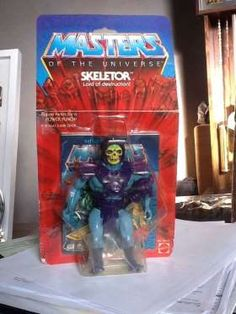 He-Man's evil nemesis Skeletor is the most popular action figure from the Masters of the Universe Wo... - xmenfan1978 / eBay