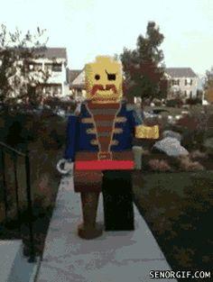 Lego Pirate Costume!!!