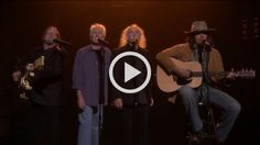 Crosby, Stills, Nash and 'Young' perform 'Fancy'